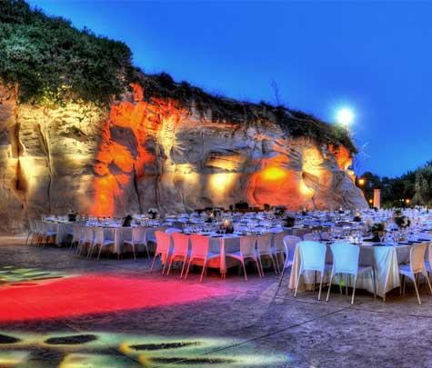 אירועים עסקיים, גן האירועים מערה