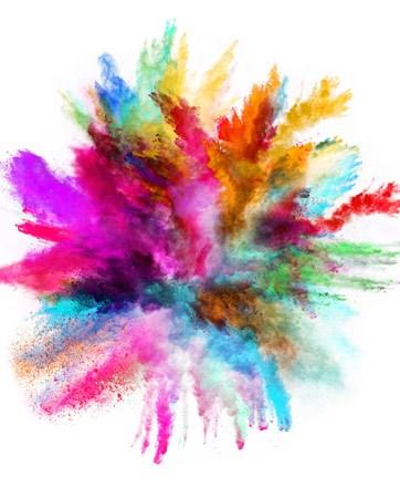 הטרנד החם: פצצת עשן צבעונית