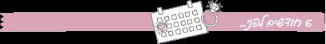 הצ'ק ליסט לחתונה שלכם: לגזור ולשמור, המדריך לתכנון חתונה, 2