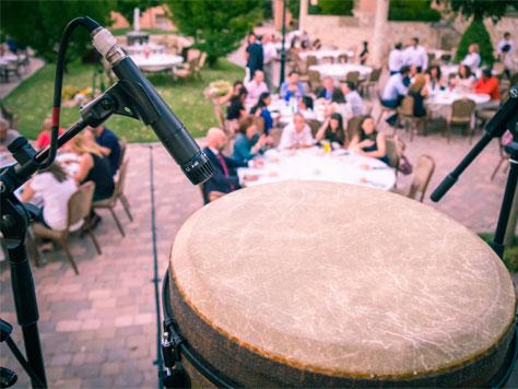 הופעת מתופפים בחתונה