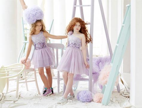שמלות שושבינה בצבע לילך