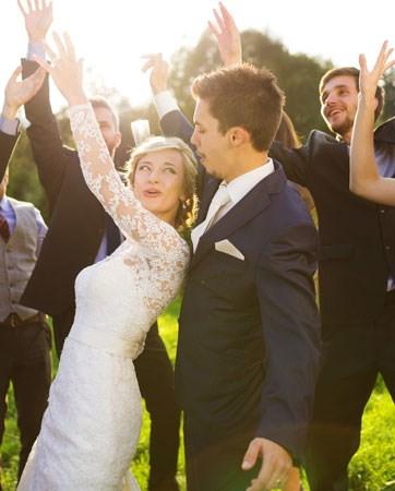הפתעה לאורחים: חתונה הפוכה