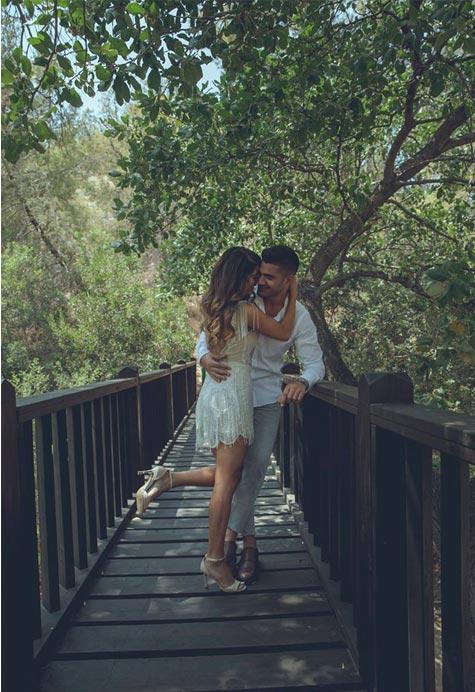 צילום חתונה על גשר העץ