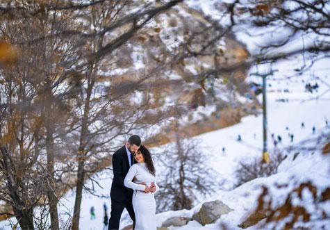 צילום רומנטי בחרמון