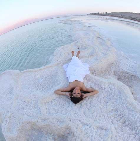 כלה בים המלח