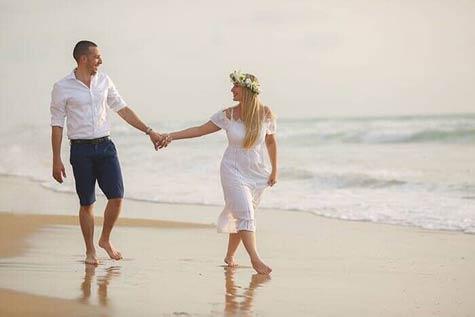 צילום בים - הכי רומנטי