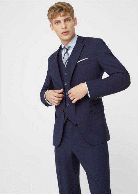 חליפת חתן בכחול רויאל