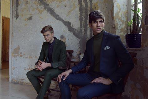 חליפות חתן בהשראת שנות ה- 70