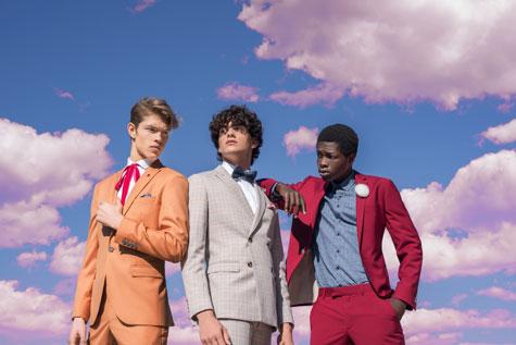 חליפות גברים בצבעי קיץ
