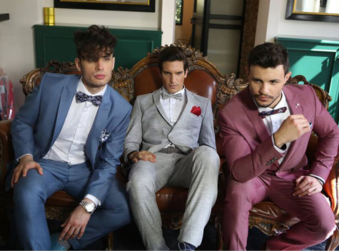חליפות חתן בשלל צבעים ססגוניים