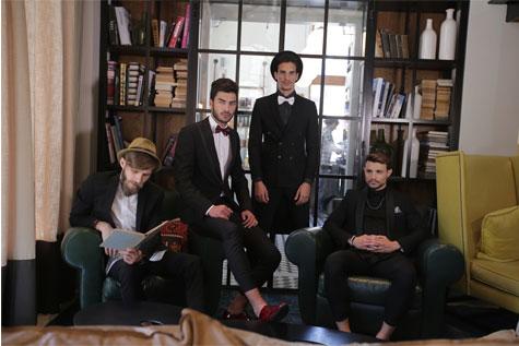 חליפות חתן שחורות ניצחיות