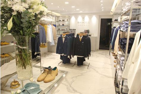 השקת חנות חליפות גברים באמוס