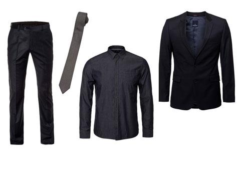 חליפת חתן בגווני שחור