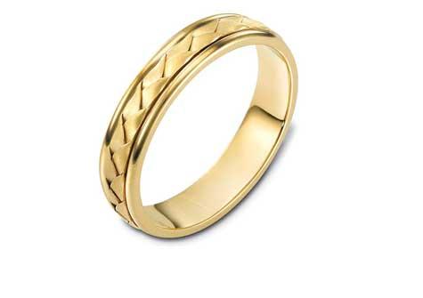 טבעת נישואין מראה כפרי