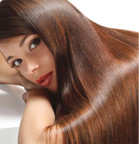 שיער בהחלקה צרפתית