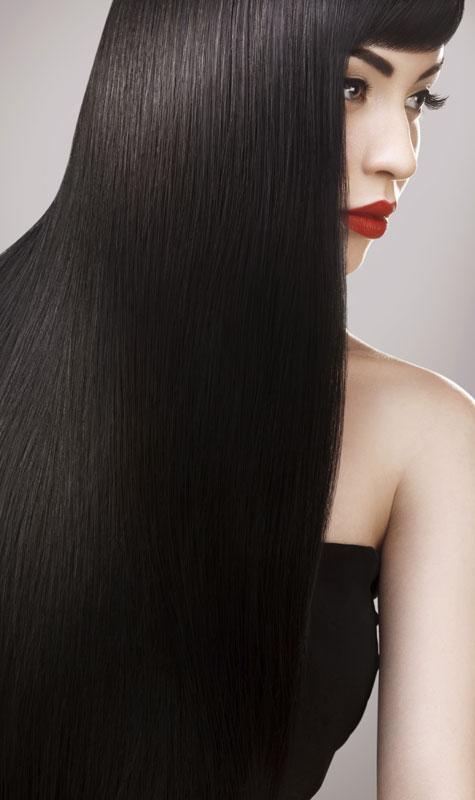 שיער שעבר החלקה ברזילאית