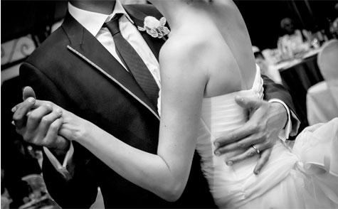 הסלואו הראשון בחתונה