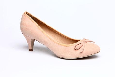 נעלי כלה בצבע אפרסק