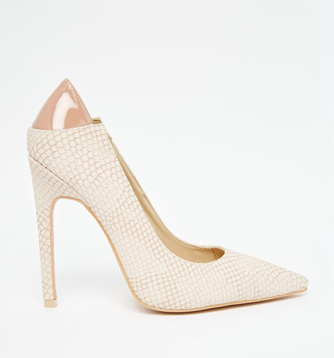 נעלי כלה עם דוגמא