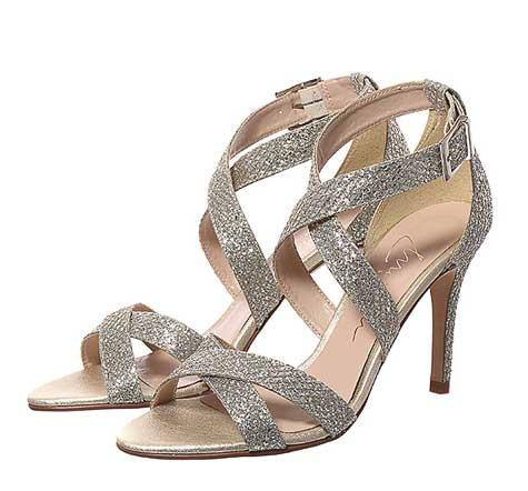 נעלי כלה נוצצות-נעלי SHOEZ  צילום: יוסי מור