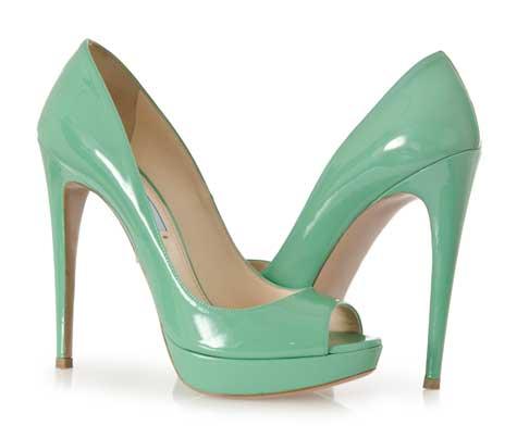 נעלי כלה ציבעוניות