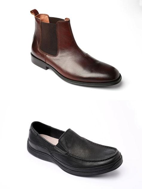 צועד לחופה, נעליים, 1