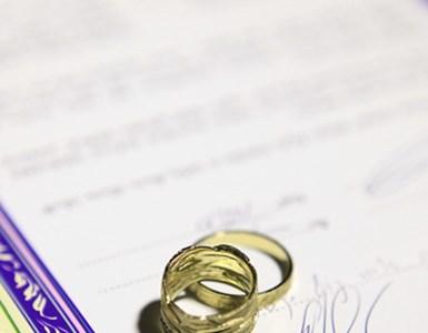 ביטול תעודת הרווקות לאלתר!, הטקס