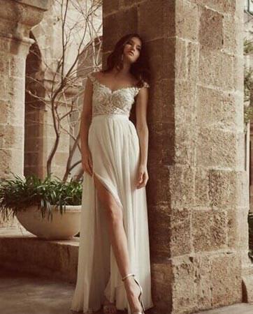 הקשר הסודי שבין הגן הבוטני ושמלות הכלה: קולקציית קיץ