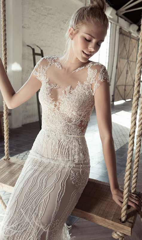 שמלת כלה בהשראת אגם הברבורים