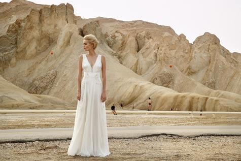 שמלה לבנה - משכית