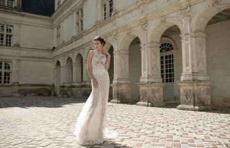 שמלת כלה בעיצובו של אלון ליבנה
