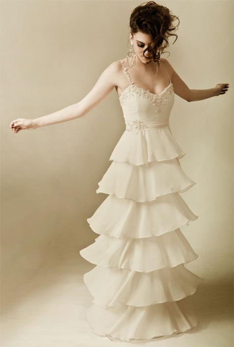 שמלה: בירנצוויג. איפור ושיער : קארמה לחאם. צילום : גיא גלעד