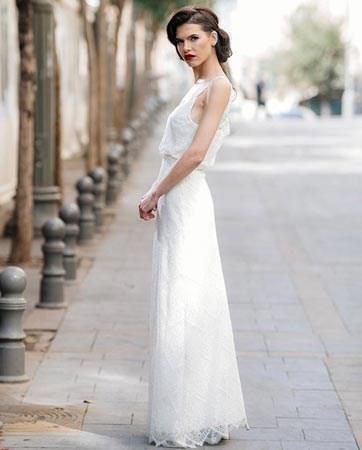 עיצוב שמלות כלה: ככה זה כשיש שתיים!