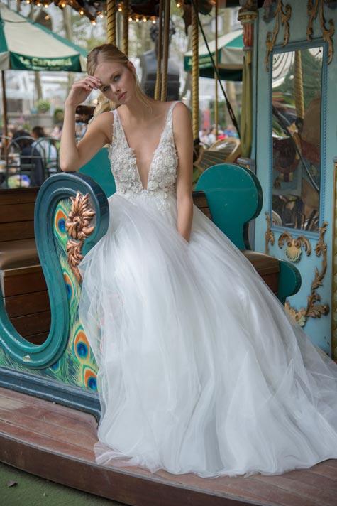 שמלת כלה בעלת נפח