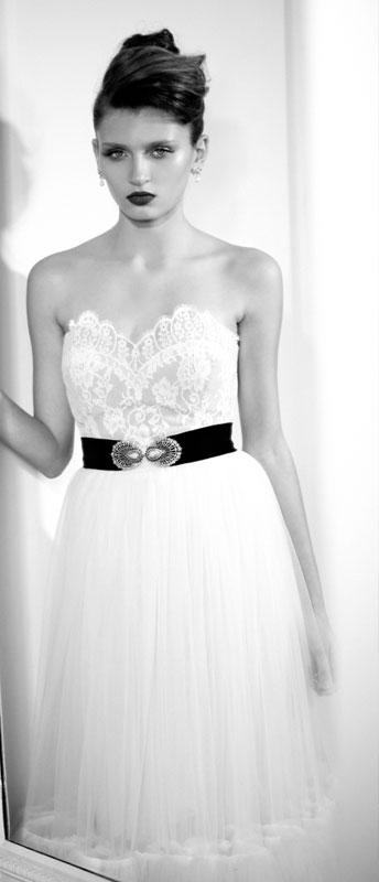 שמלה של אייזן שטיין. צילום: רונן פדידה