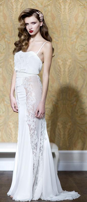 שמלה: אייזן שטיין. צילום: רונן פדידה
