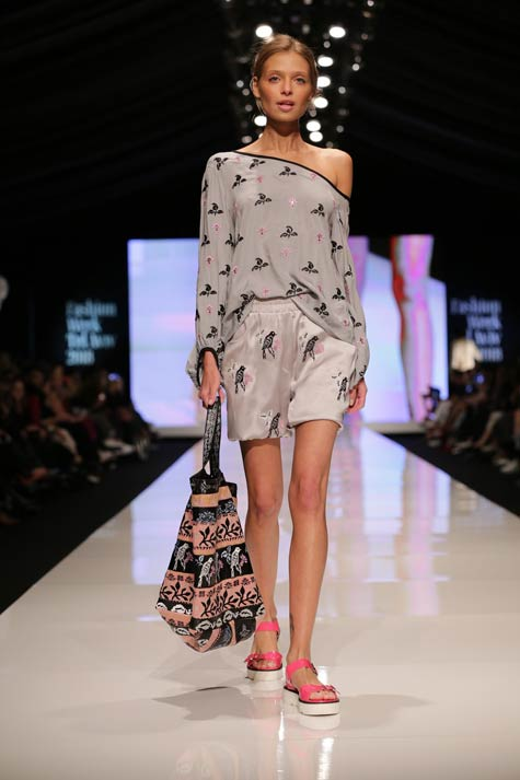 שמלה אביבית - טובל'ה