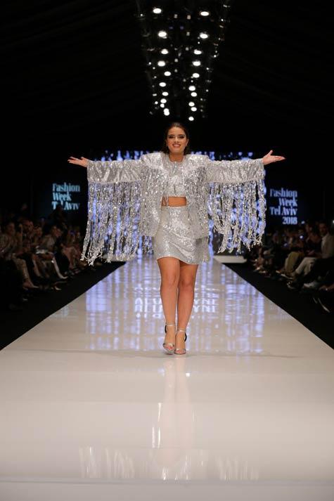שמלת ערב בעיצוב אלון ליבנה