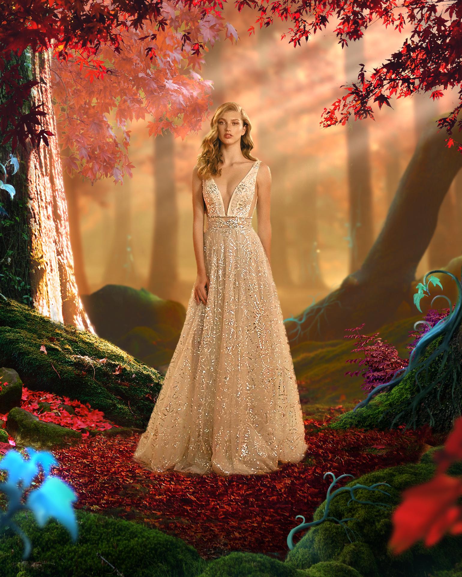 מהאגדות: קולקציית גאלה VI של גליה להב, שמלות כלה, 3