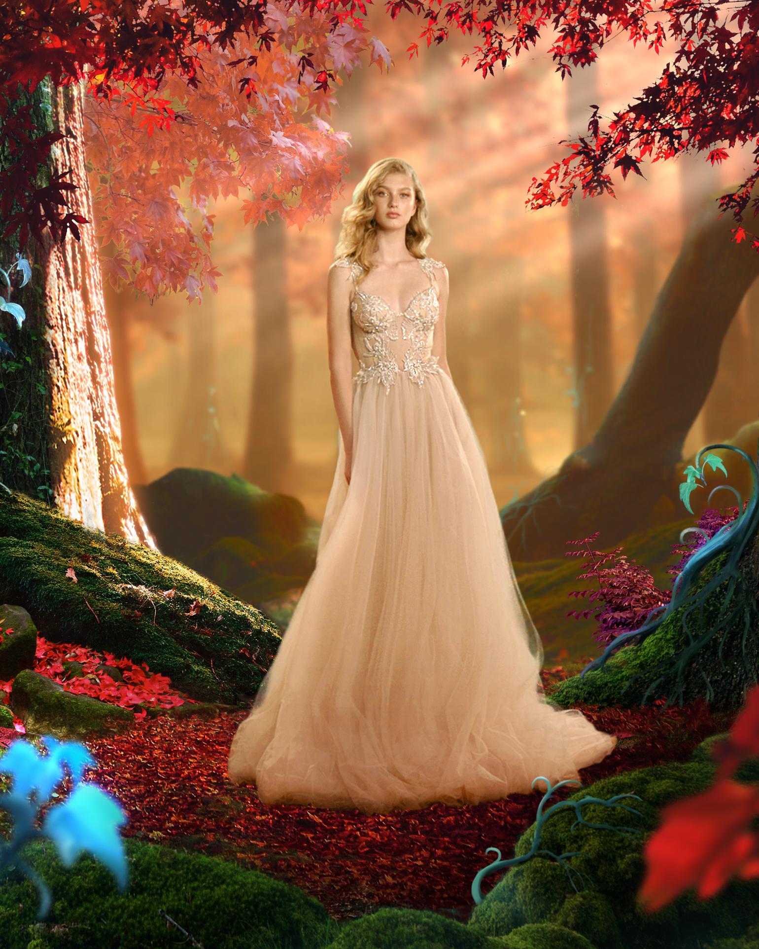 מהאגדות: קולקציית גאלה VI של גליה להב, שמלות כלה, 1