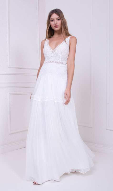 שמלת כלה בעיצובו של יואב ריש