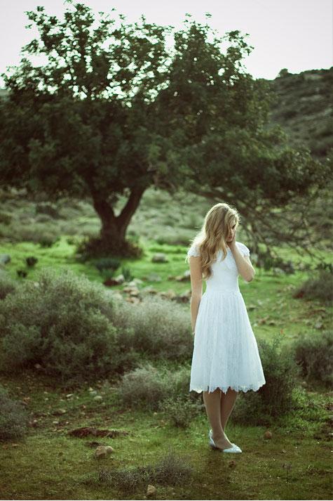 שמלה: קרן חצרוני. צילום: נועה אייזנשטט