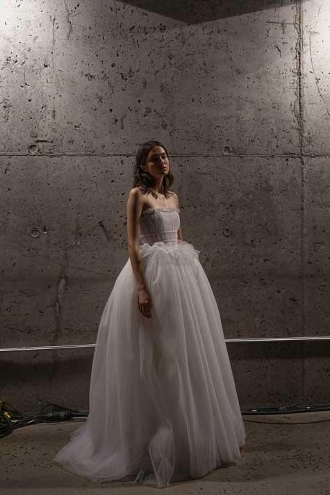 שמלת כלה עם נפח