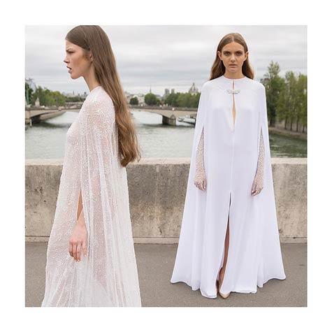 שמלת כלה - גלימה אופנתית