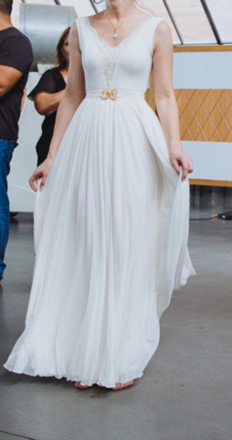 שמלת כלה כתפיות, צילום: איגור נובינסקי