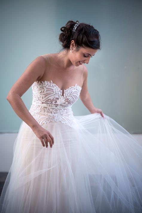שמלת כלה נפוחה, צלם: ים צילומים