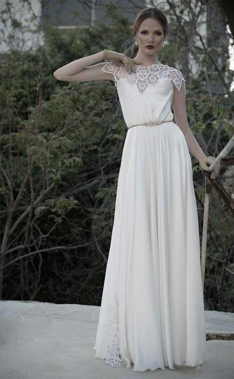 שמלת כלה: שלומי יקיר. צילום: אלון שפרנסקי