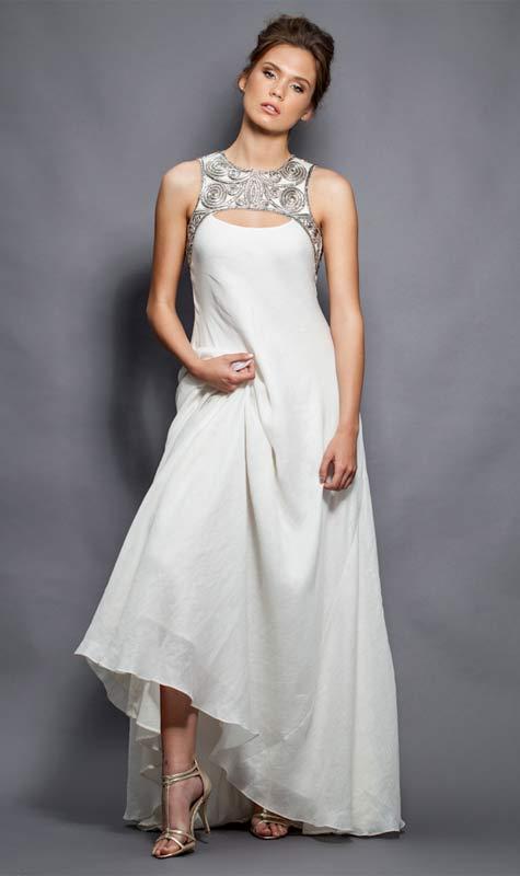 שמלת כלה מעוצבת. צילום: רון קדמי