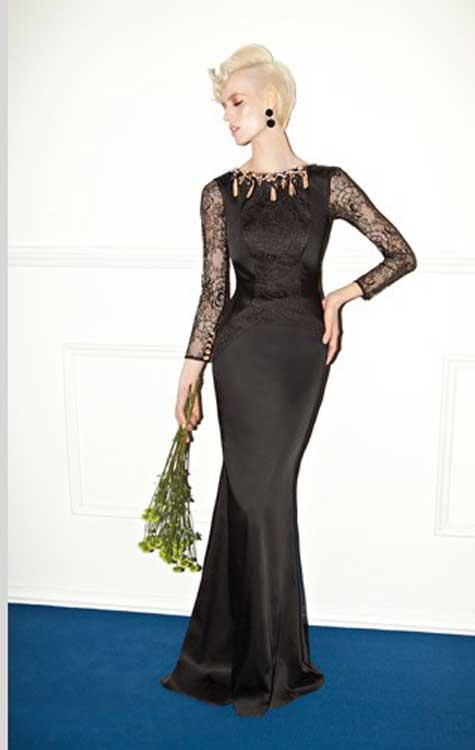 שמלת ערב קלאסית