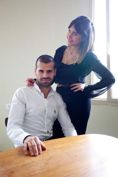 אליהב ואחותו לריאן. צילום: סטודיו דרור כץ